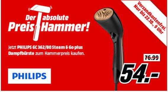 Philips GC362/80 Steam & Go Dampfbürste für 54€ (statt 79€)