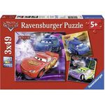 Ravensburger Disney Cars – Auf der Rennstrecke Puzzle (3 x 49 Teile) für 5€ (statt 9€)