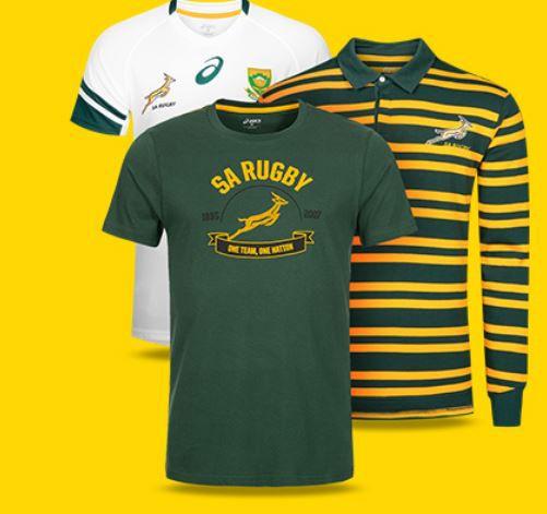 ASICS Südafrika Springboks Herren Rugby PoloShirts ab 18,99€ (statt 30€)