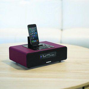 SANGEAN DDR 38 BT DAB+ Radio mit iPhone Dockingstation für 173,99€ (statt 257€)