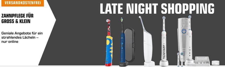 Saturn Late Night mit günstigen eZahnbürsten & Co. für die ganze Familie: z.B. PHILIPS Sonicare HX8432/01 Airfloss Ultra für 70€ (statt 82€)