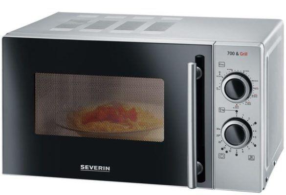 Severin MW 9282   20l Mikrowelle mit Grill 700W für 69,90€ (statt 98€)