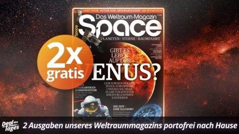 2 Ausgaben Space testen   Kündigung notwendig