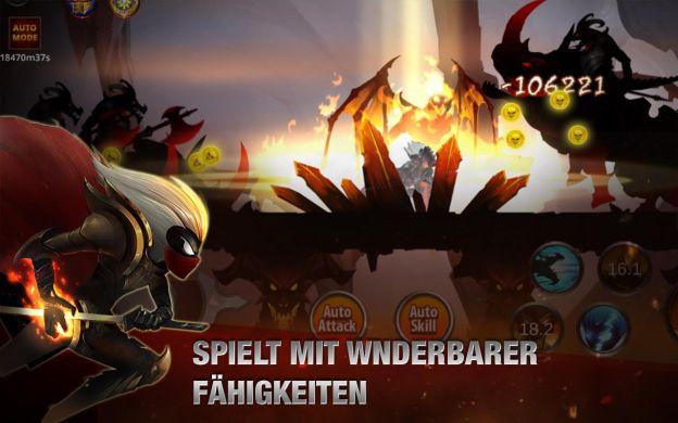Stickman Legends: Shadow of War (Android) gratis statt 0,59€