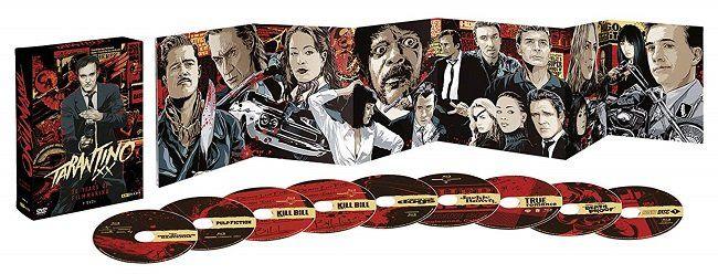 Tarantino XX   20 Years of Filmmaking auf 9 DVDs für 39€ (statt 52€)
