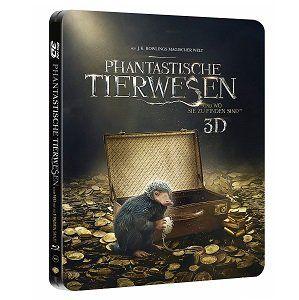 Phantastische Tierwesen und wo sie zu finden sind als Collectors Edtion (3D Blu ray) für 89€ (statt 131€)