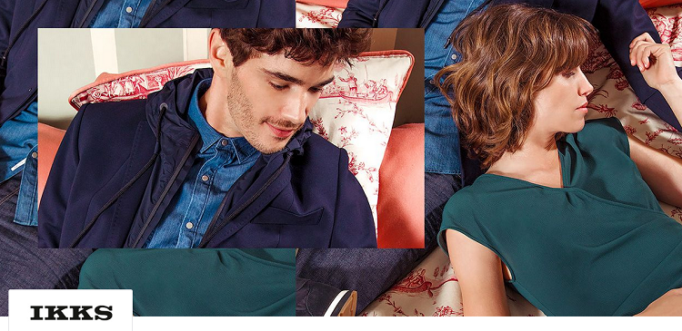 IKKS Fashion Sale mit bis zu 72% Rabatt bei Vente Privee   z.B. Shirts ab 12,99€