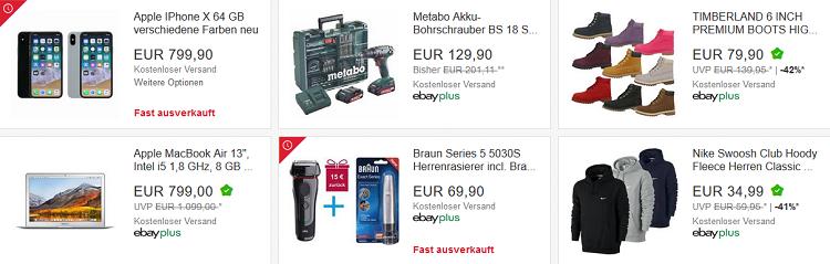 ? Knaller: Nur bis 21 Uhr   eBay: 10% auf ALLES (außer Münzen) in der App