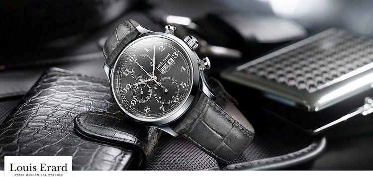 Louis Erard Uhren Sale bei Vente Privee   z.B. Herren Chronograph 1931 ab 889,99€ (statt 1.635€)
