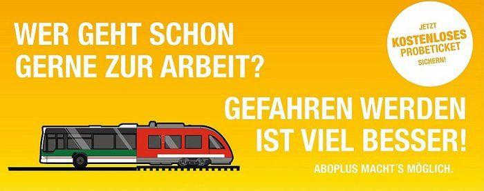 Aschaffenburg: kostenloses AboPlus Probeticket für Busse und Bahnen