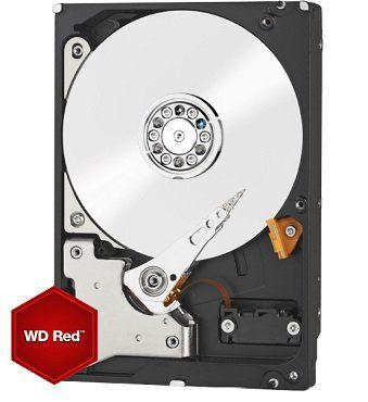Western Digital interne Festplatte der Red Serie mit 4TB für 115€ (statt 140€)