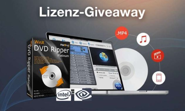 WinX DVD Ripper Platinum (Lifetime Lizenz, Windows) kostenlos