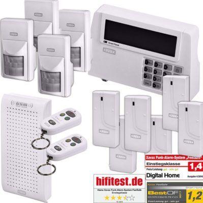 Hama Xavax Funk Alarm Anlage XXL Set für 79,90€