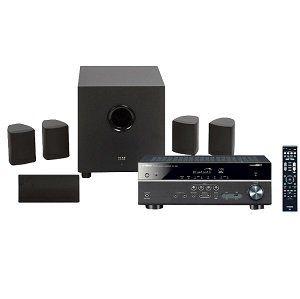 YAMAHA RX V483 5.1 Receiver + Elac Cinema 5 Heimkino System für 419€ (statt 607€)