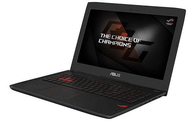 Asus ROG GL502VM 15,6 Gaming Laptop mit 1 TB HDD + 256 GB SSD und 16 GB RAM für 1.255,90€ (statt 1.704€)