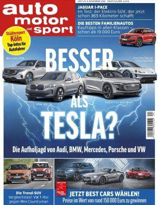 9 Ausgaben auto motor und sport für 31,85€ + 31,85€ Verrechnungsscheck