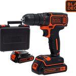 Black & Decker Akku-Bohrschrauber BDCDC18KB für 65,90€ (statt 85€)