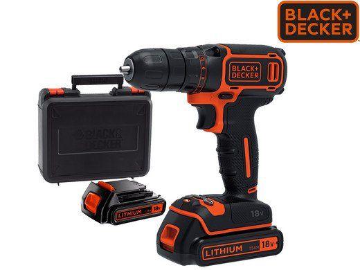 Black & Decker Akku Bohrschrauber BDCDC18KB für 65,90€ (statt 85€)