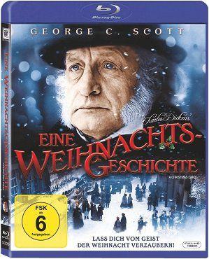 Charles Dickens   Eine Weihnachtsgeschichte als Blu ray für 5€ (statt 8€)