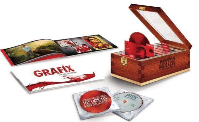 Dexter Bloodslide Bluray Box für 84,15€ (statt 121€)