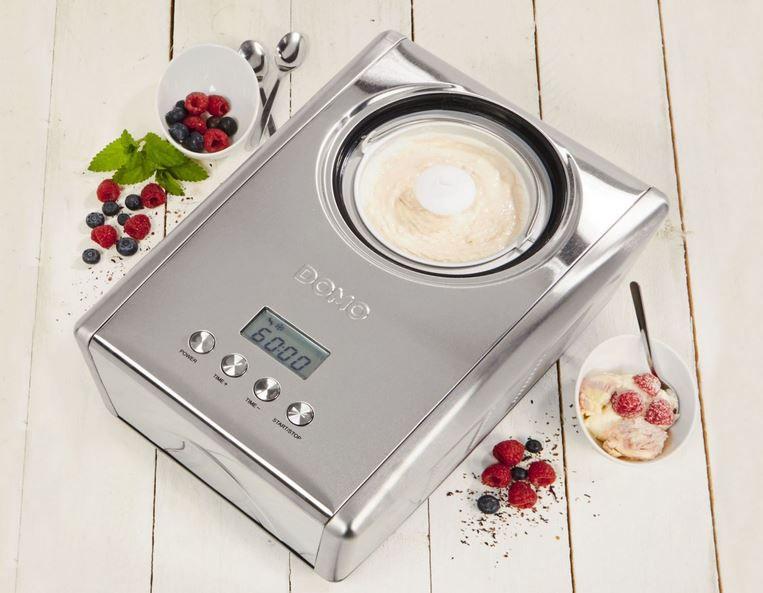 Domo DO9066I Kompressor Eismaschine für 160,99€ (statt 185€)