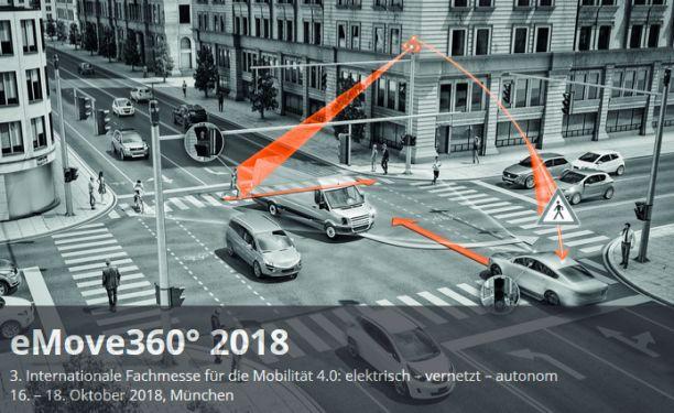 Gratis Ticket für die EMove360 in München (16.   18. Oktober)