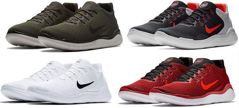 Nike Free RN 2018 Herren Sneaker für 61,58€ (statt 77€)