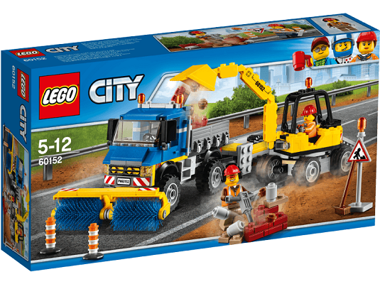 LEGO (60152) Straßenreiniger und Bagger für 27,98€ (statt 44€)