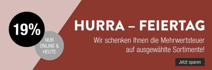 Abgelaufen! Galeria Kaufhof Feiertags Angebote mit 15,97% Rabatt auf ausgewählte Artikel