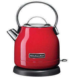 KitchenAid 5KEK1222   Wasserkocher in Rot mit 1,25 Litern & Kalkfilter für 63,92€ (statt 82€)