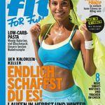 Top! FIT FOR FUN Jahresabo 43,20€ inkl. 40€ Verrechnungsscheck