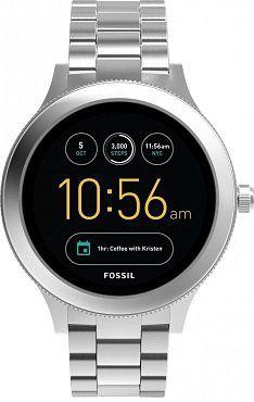 FOSSIL FTW6003 Q Venture Smartwatch aus Edelstahl für 169€ (statt 190€)