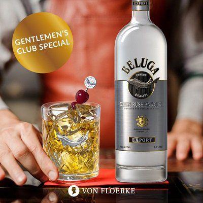 2 Flaschen Beluga Noble Vodka (0,7 Liter, 40 Vol. %) für 49,90€ (statt 62€)