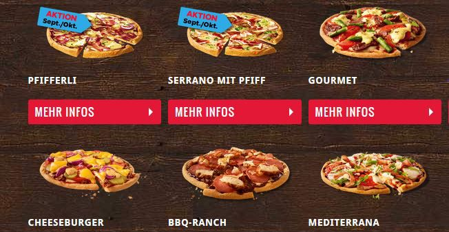 Domino`s : 3 Pizza für 2     eine Pizza Gratis ♥