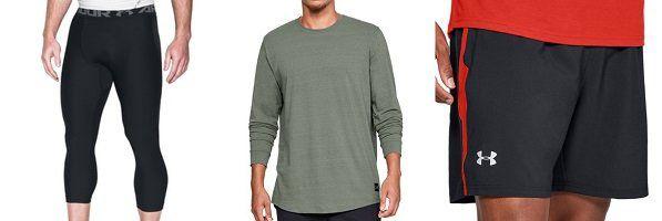 40% Rabatt auf Under Armour Sportartikel   z.B. Longsleeve Shirt Sportstyle LS für 25,99€ (statt 37€)