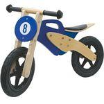 JAMARA Laufrad Holz-Roller in blau für 45€ (statt 65€)