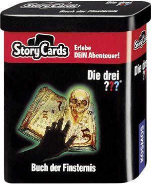 Kosmos Story Cards   Die drei??? Buch der Finsternis (688028) für 5€ (statt 11€)