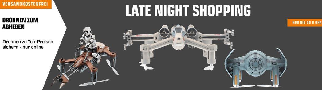 Saturn Drohnen Late Nacht ab 19€ bis zur YUNEEC Q500 4K Typhoon Set für 599€ (statt 699€)
