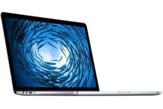 APPLE MacBook Pro mit Retina 15.4 Zoll Display i7 256GB Flash 16GB RAM B Ware für 1.555€ (statt 2.199€)