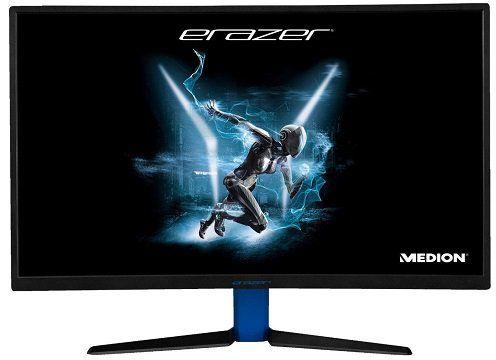 MEDION Erazer X57425 27 Full HD Gaming Monitor mit 4 ms Reaktionszeit, FreeSync und 144 Hz für 269€ (statt 350€)