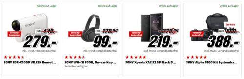 Media Markt Mega Marken Sparen: günstige Artikel von LG, Beats und Sony