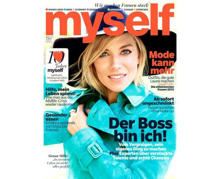 Myself   Frauenmagazin Halbjahres Abo gratis statt 21€ + einmalig 4,95€ VSK
