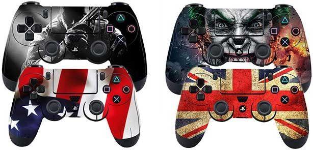 PS 4 Controller Skins in versch. Designs für je 1,21€
