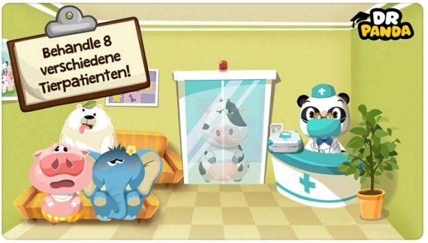 Dr. Panda: Tierklinik (Android/iOS) kostenlos statt 3,49€