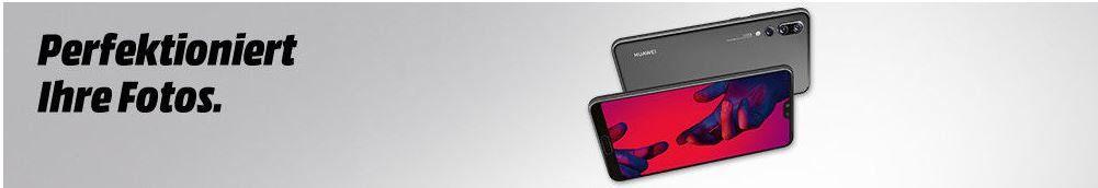 Media Markt Huawei Smartphonefieber + Gutscheine: z.B.  HUAWEI P20 Pro 128 GB Dual SIM für 599€ + 50€ Gutschein (statt 630€)