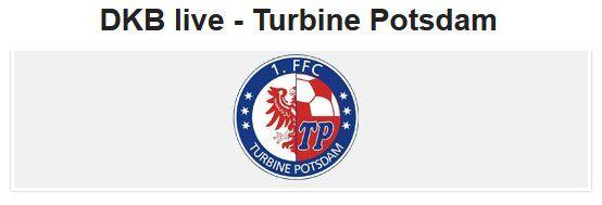 Gratis Tickets Turbine Potsdam vs. FC Bayern (Frauenfußball) am 21.10.2018 für DKB Kunden