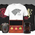Game of Thrones Sets wie z.B. Eiserner Thron Bierkrug + T-Shirt für 54,98€ (statt 67€)