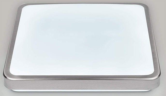 Eckige LED Deckenleuchten (277x227x86mm) in Kalt  oder Warmweiß für je 13,29€