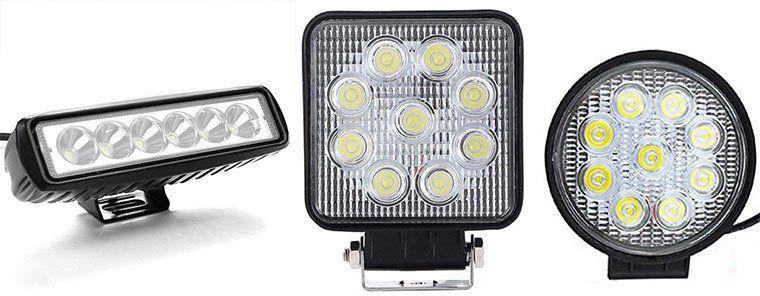 30% Rabatt auf LED Arbeitsleuchten für das Auto von VINGO ab 7,69€   Prime