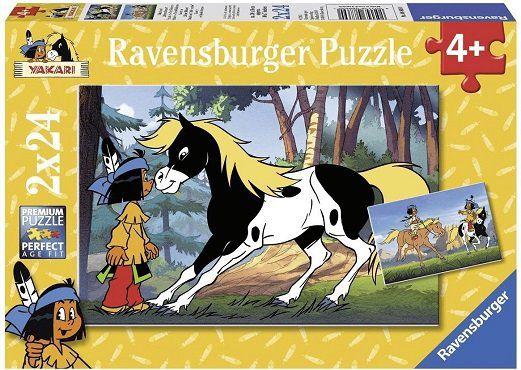 RAVENSBURGER 88690 Yakari und kleiner Donner Puzzle für 5€ (statt 9€)